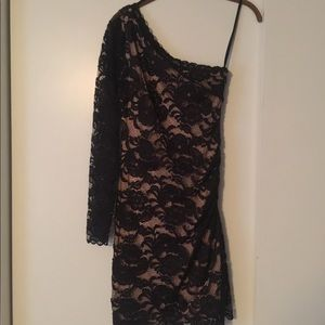 Black Lace Bebe Dress size Small